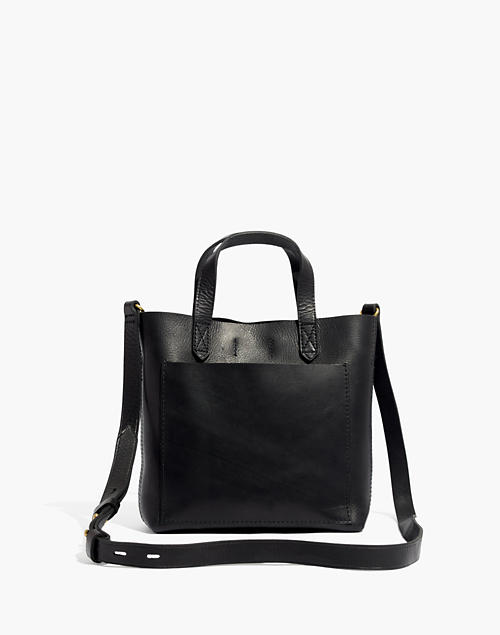 410becf62 The Small Transport Crossbody in true black image 1
