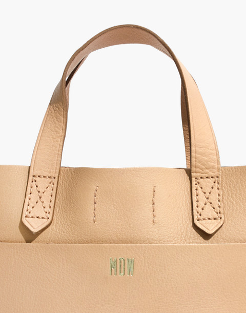 The Small Transport Crossbody in linen image 3