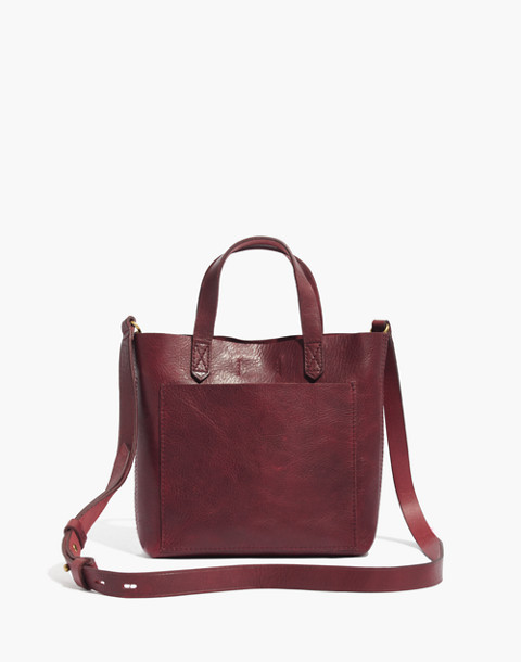 The Small Transport Crossbody in dark cabernet image 1