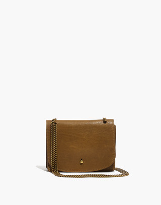 The Chain Crossbody Bag in savannah moss image 1
