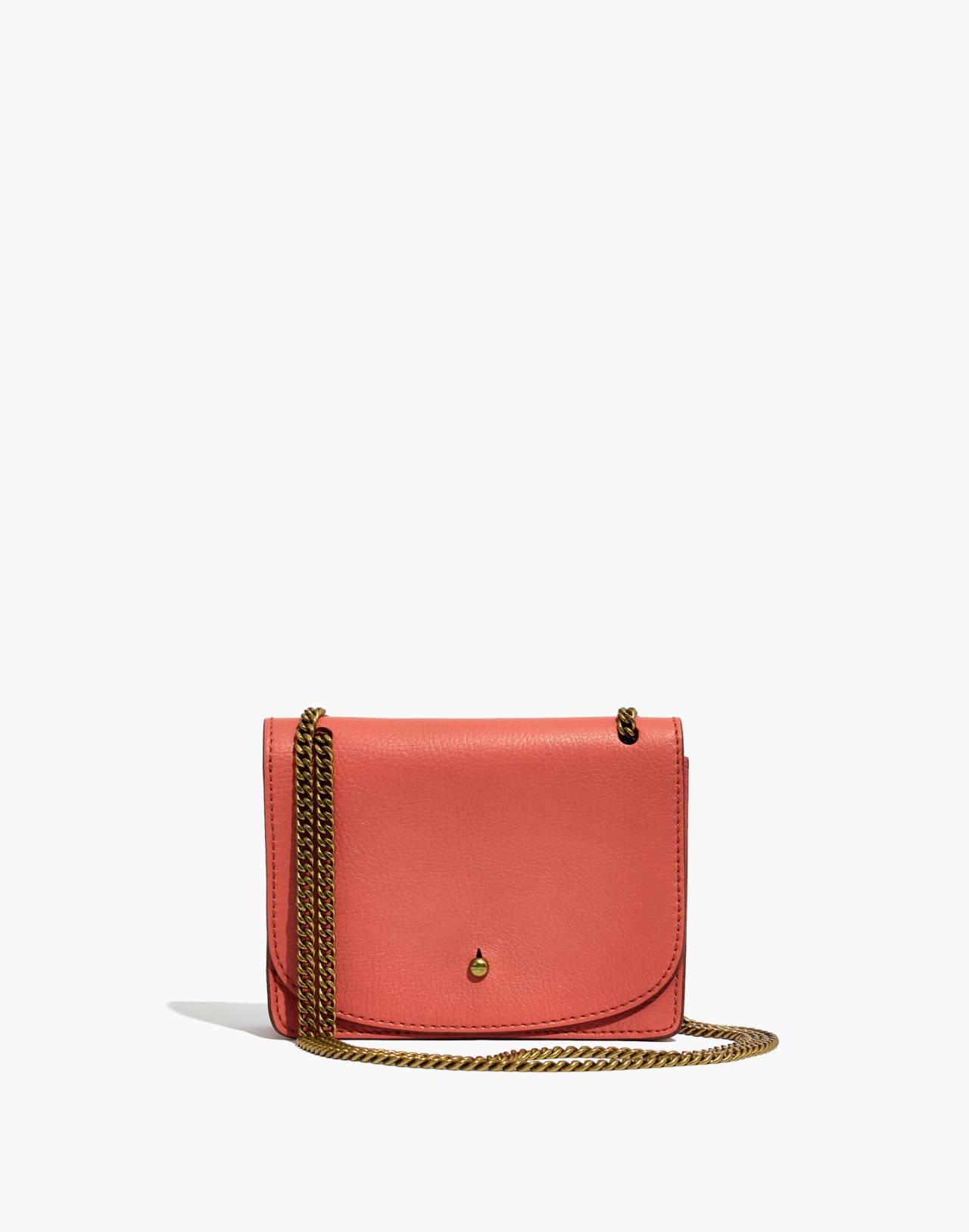 The Chain Crossbody Bag in spiced rose image 1