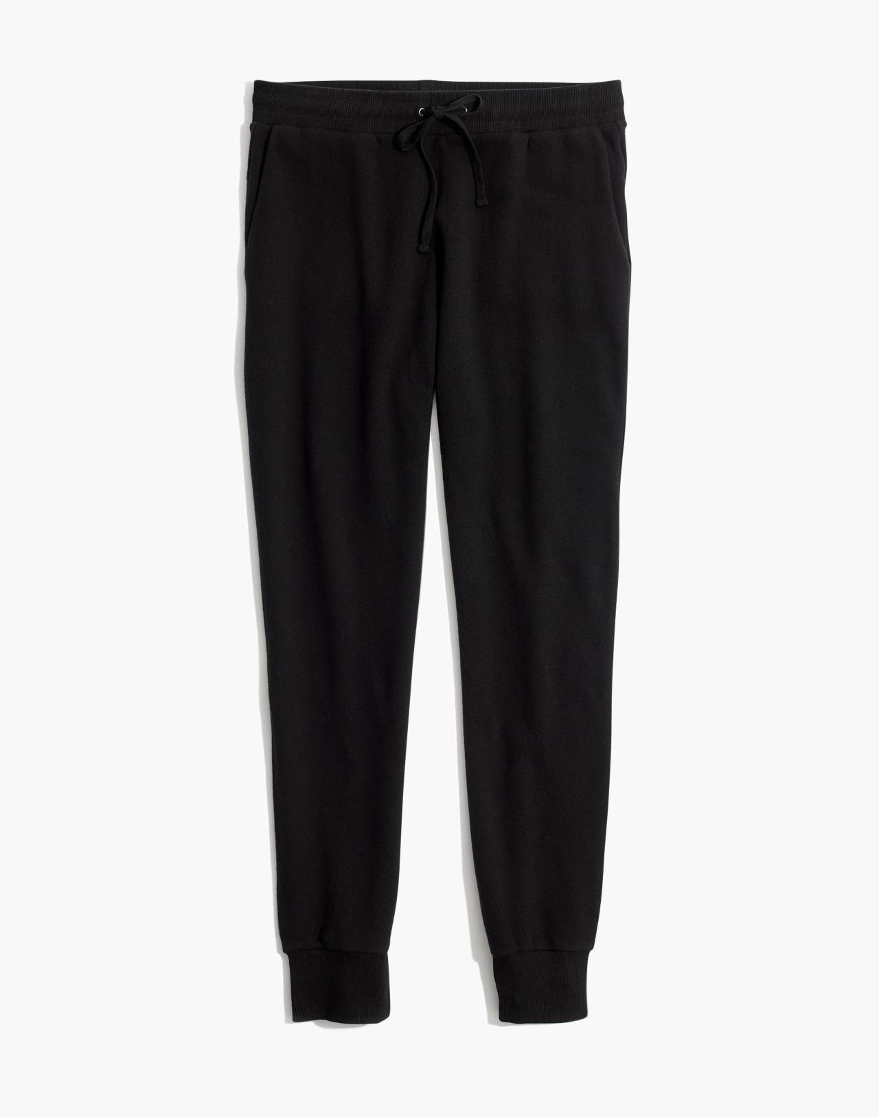 Terry Trouser Sweatpants in true black image 1