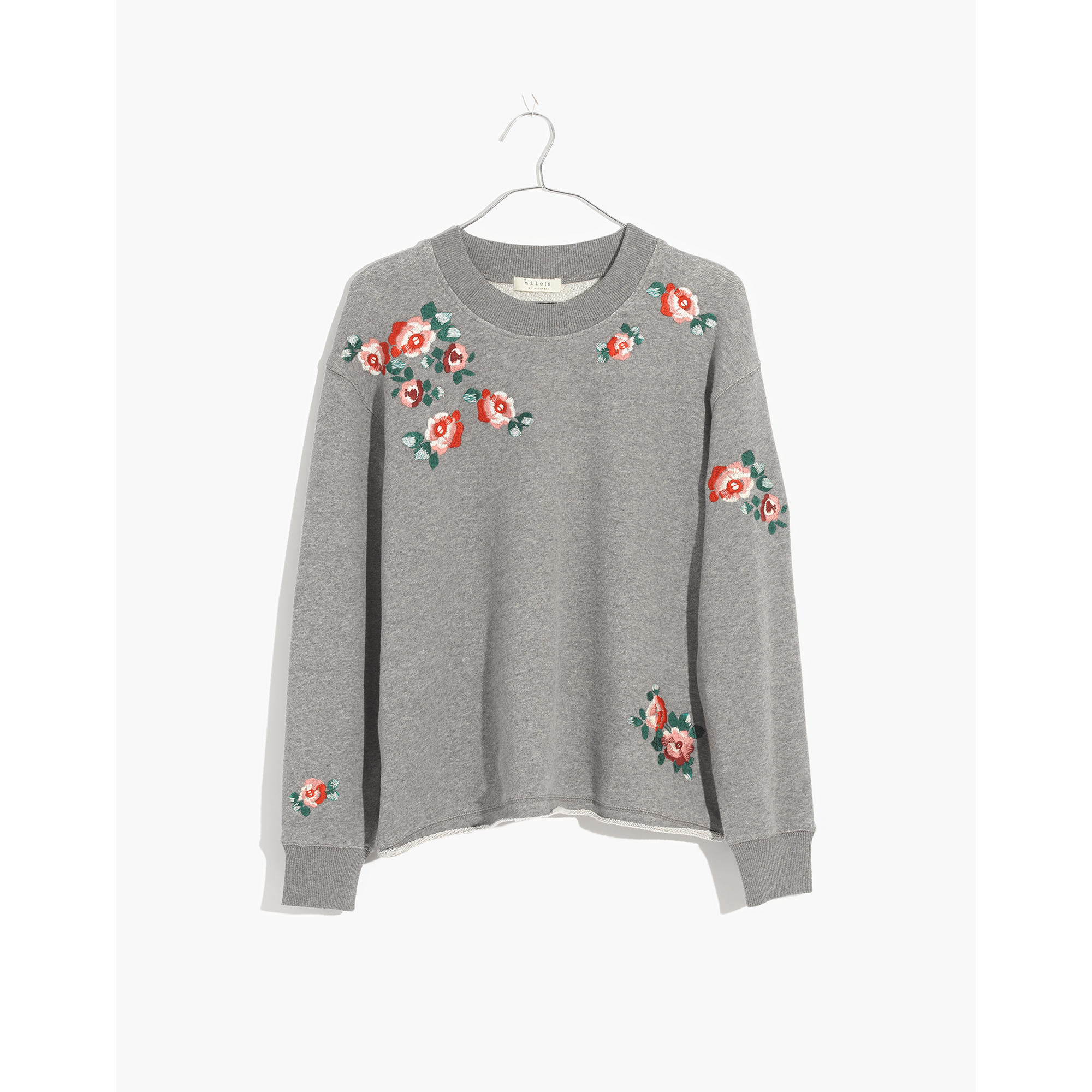 Slide View: 5: Sundry Embroidered Sweatshirt