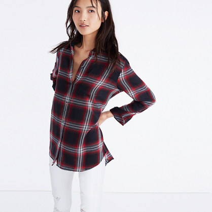 Classic Ex-Boyfriend Shirt in Rollins Plaid