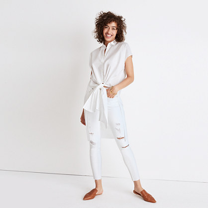 Pre-order Side-Slit Tunic Shirt