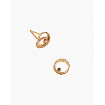 Madewell x Still House™ 14k Gold Lapé Diamond Earrings
