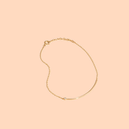 Madewell x Still House™ 14k Gold Erelé Diamond Bracelet