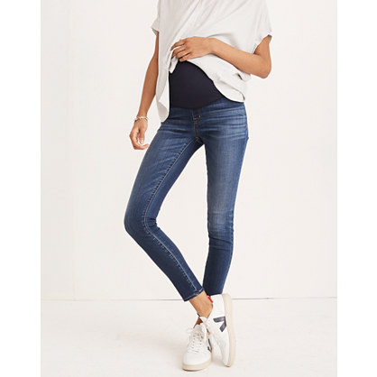 Maternity Over-the-Belly Skinny Jeans in Danny Wash