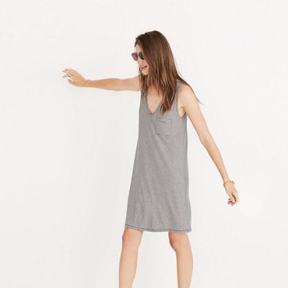 Swingy Tank Dress in Stripe