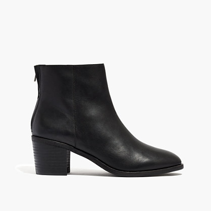 The Pauline Boot in Leather