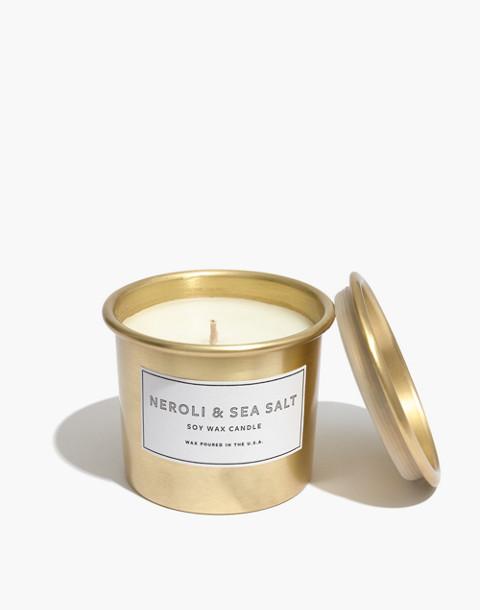 Metal Tumbler Candle in neroli sea salt image 1