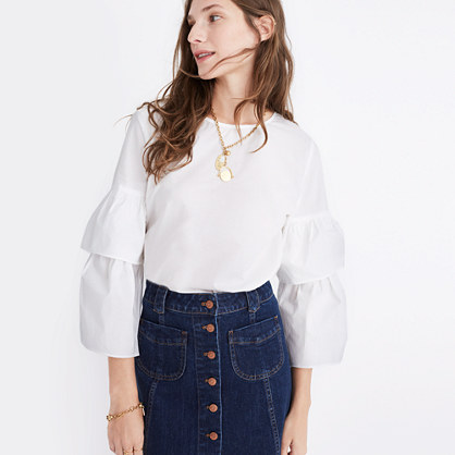 Tiered-Sleeve Top