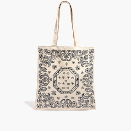 The Reusable Canvas Tote Bag: Bandana Edition