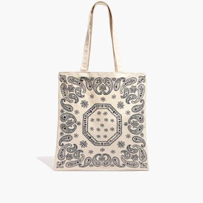 The Reusable Canvas Tote Bag: Bandana Edition