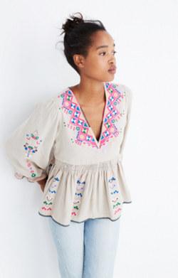 Ulla Johnson™ Embroidered Maja Top