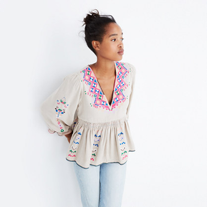 Ulla Johnson™ Embroidered Maja Top