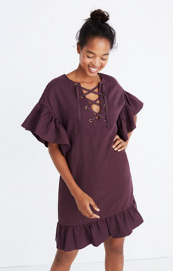 Ulla Johnson™ Marianne Lace-Up Dress