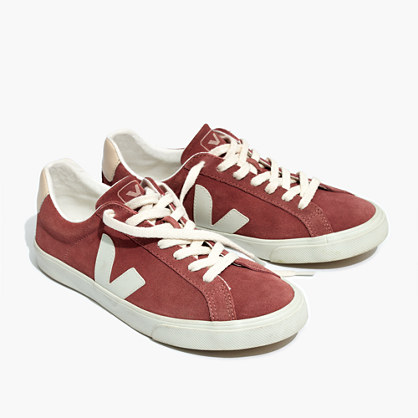 Madewell x Veja™ Esplar Low Sneakers in Suede