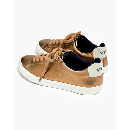 Veja™ Esplar Low Sneakers in Metallic Bronze