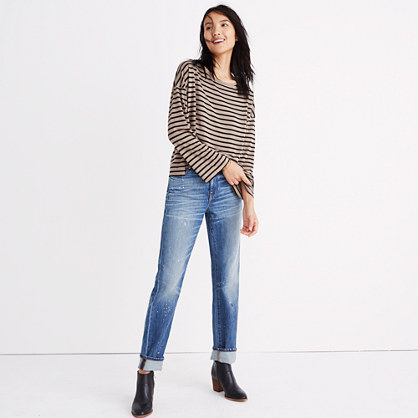 Libretto Wide-Sleeve Top in Stripe