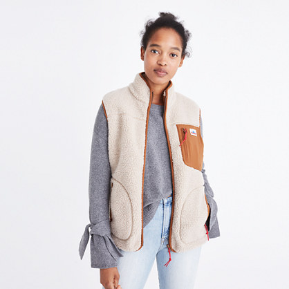 Madewell x Penfield® Mattawa Fleece Vest