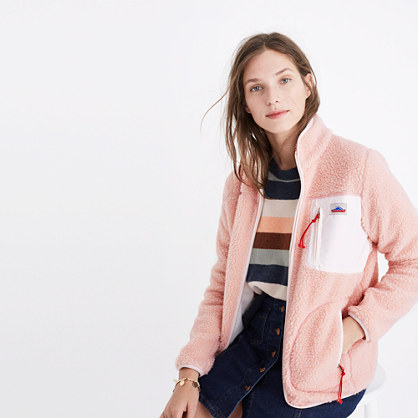 Madewell x Penfield® Lucan Pink Fleece Jacket