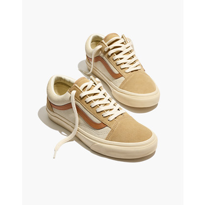 Pre-order Madewell x Vans® Unisex Old Skool Lace-Up Sneakers in Camel Colorblock