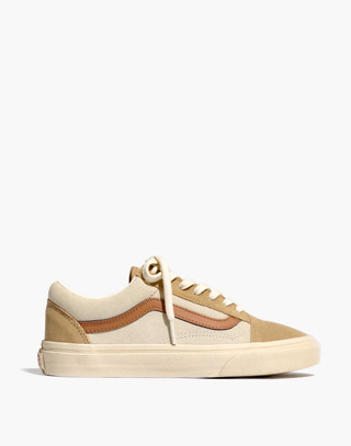 Madewell x Vans® Unisex Old Skool Lace-Up Sneakers in Camel Colorblock