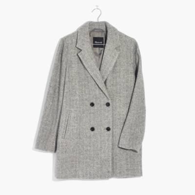 Herringbone Blazer Coat