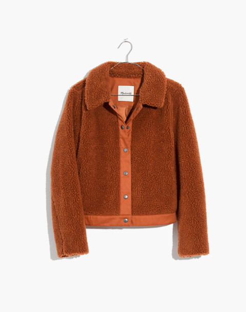 Sherpa Portland Jacket in golden pecan image 4