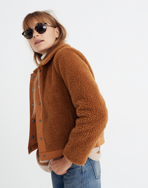 Sherpa Portland Jacket in golden pecan image 1