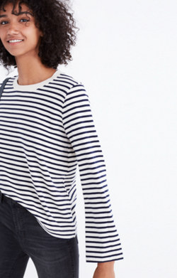 Rivet & Thread Bell-Sleeve Tee