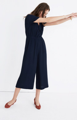Starnight Short-Sleeve Jumpsuit