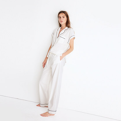 Embroidered Bedtime Pajama Set