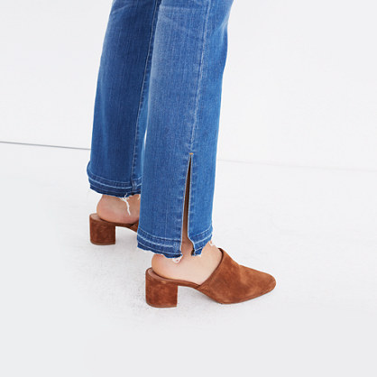 Cali Demi-Boot Jeans: Split-Hem Edition