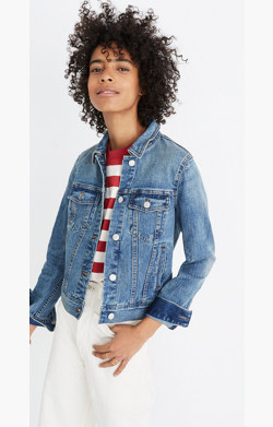 Pre-order The Shrunken Stretch Jean Jacket