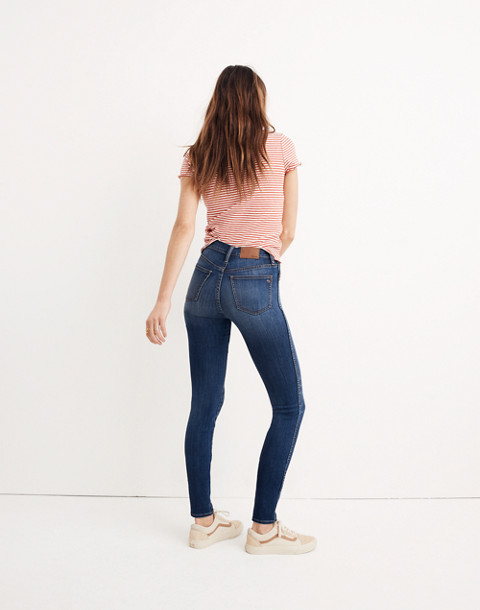 "Petite 10"" High-Rise Skinny Jeans in Danny Wash: Tencel® Edition"