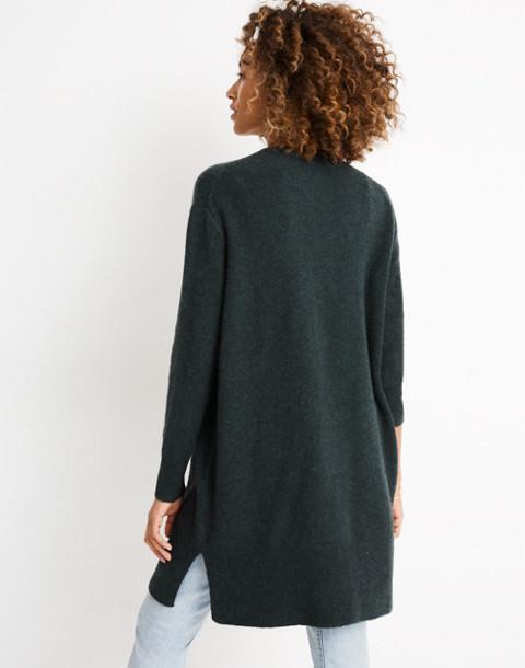 Kent Cardigan Sweater in Coziest Yarn in hthr amazon image 3