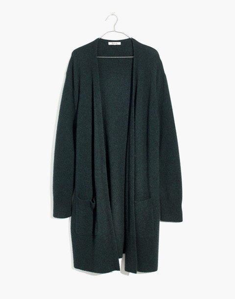Kent Cardigan Sweater in Coziest Yarn in hthr amazon image 4