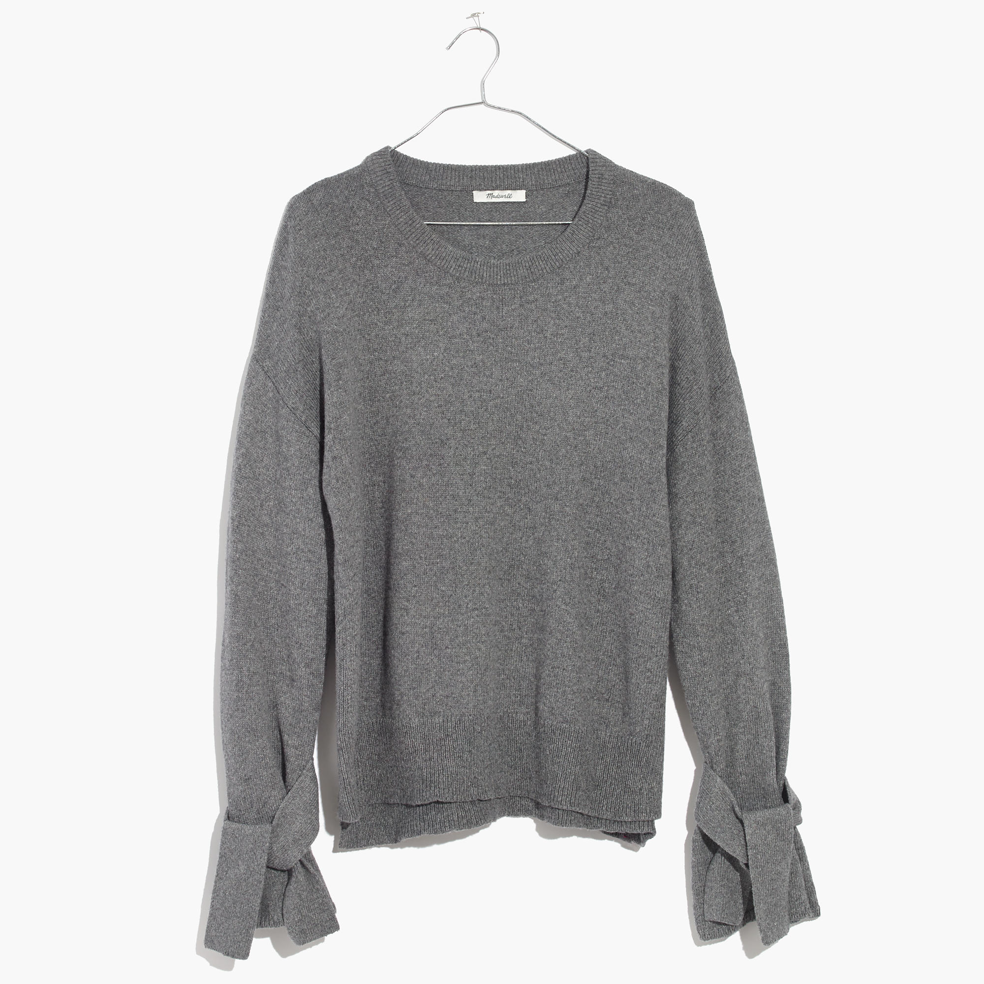 Tie-Cuff Pullover Sweater : shopmadewell pullovers | Madewell