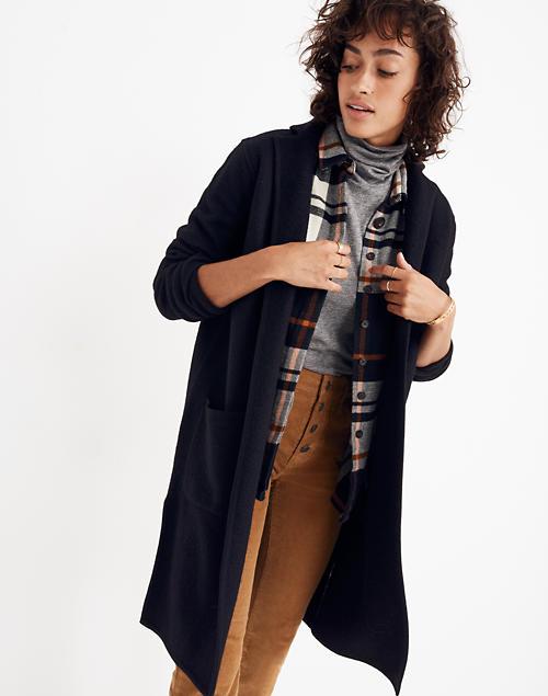 3fc4f3a793ff Camden Sweater-Coat in true black image 1