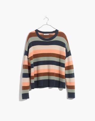 Pullover Sweater in Elmwood Stripe in craftsman blue image 4