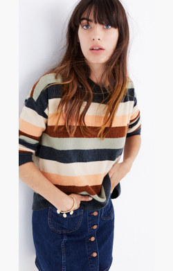 Pre-order Pullover Sweater in Elmwood Stripe