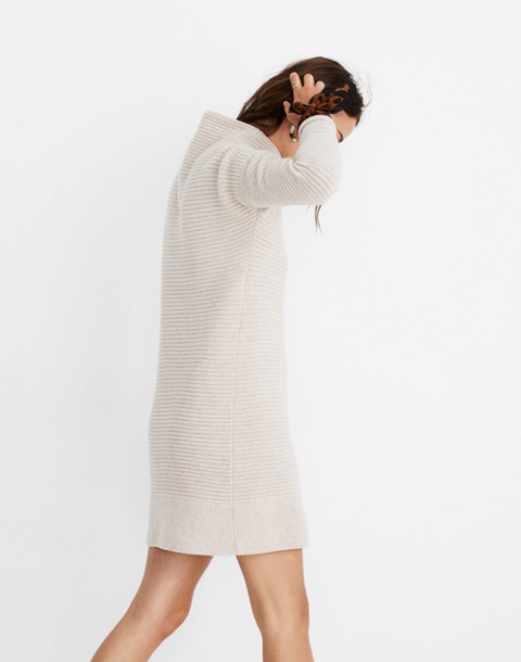 Skyscraper Sweater-Dress in hthr almond image 2