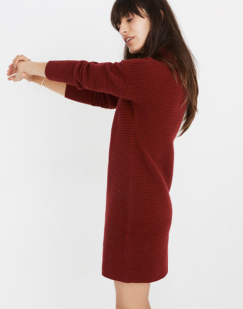 699b23de66e Skyscraper Sweater-Dress in hthr burgundy image 2