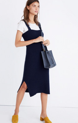Apron Sweater-Dress