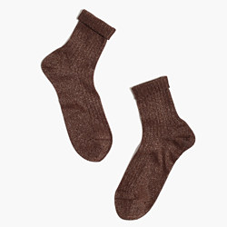 Madewell x Hansel from Basel™ Ribbed Sparkle Socks