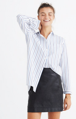 Classic Ex-Boyfriend Shirt in Stripe-Mix