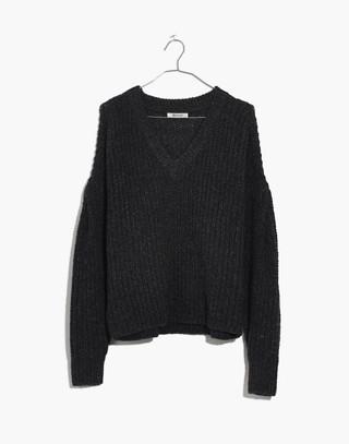 Pleat-Sleeve Pullover Sweater in ashland slate image 4