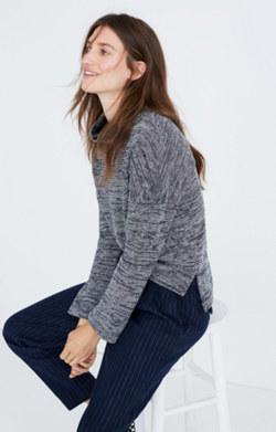 Mockneck Pullover Top